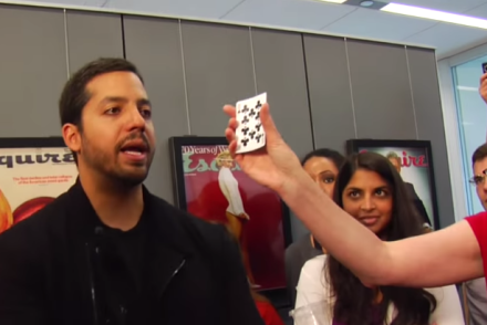 David Blaine s Card Tricks revealed