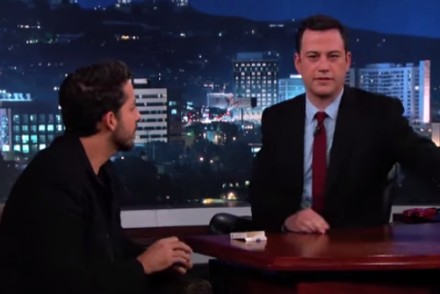 david blaine jimmy kimmel
