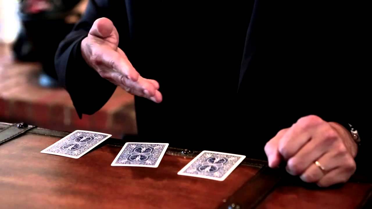 Perform 3 Card monte trick