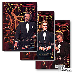 Tommy Wonder Visions of Wonder 1-3