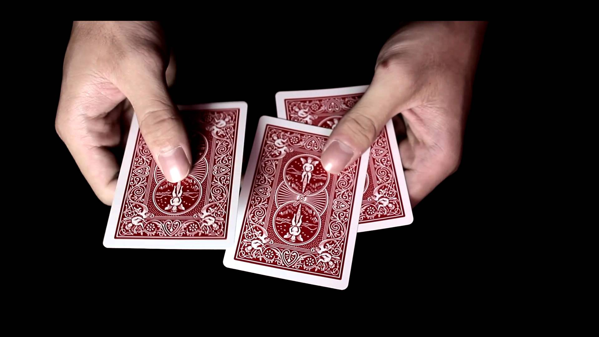 The Bend 3 Card monte trick