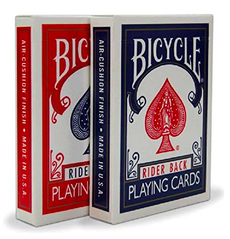 playing cards: Decks Bicycle Rider Standard Playing