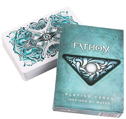 playing cards: Ellusionist FATHOM Playing Cards