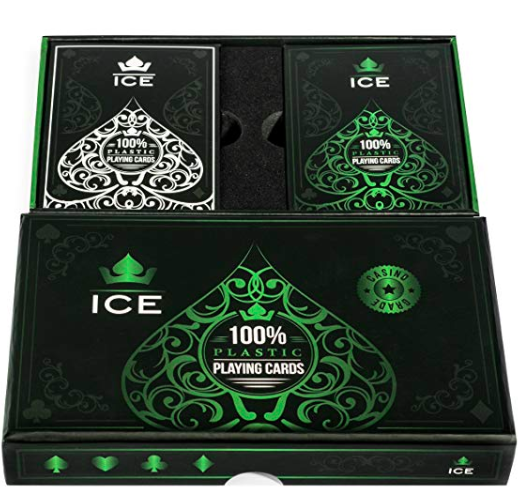 Ice Plastic Playing Cards