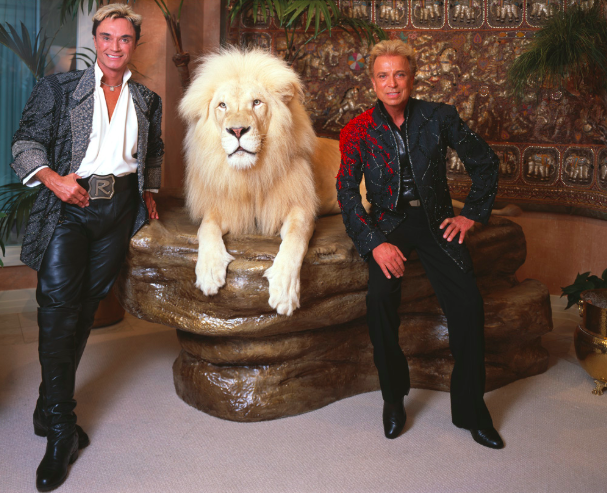 Famous Magicians: Siegfried and Roy