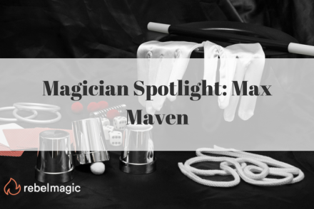 max maven. Magician equipments with blog title