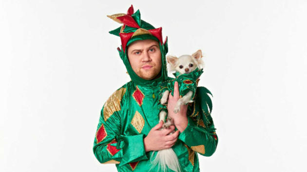 Piff the Magic Dragon with his dog