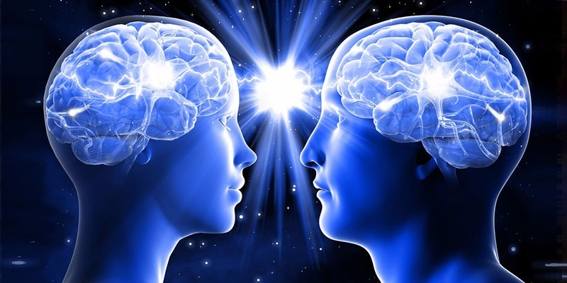 how mind power works in two people's brains