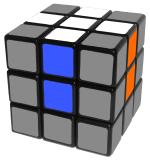first step - how to solve a rubik's cube