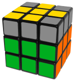 Sune and antisune - how to solve a rubik's cube