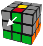 middlelayeredgesleft - how to solve a rubik's cube