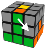 middlelayeredgesright - how to solve a rubik's cube