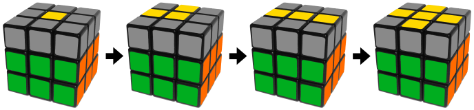 yellowcross - how to solve a rubik's cube