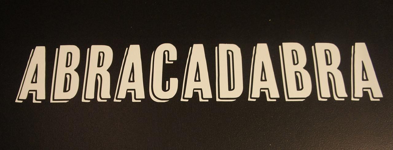 abracadabra word