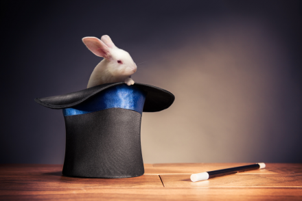 rabbit in a hat for james randi article
