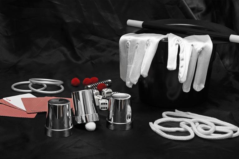 Photo of magician's tools