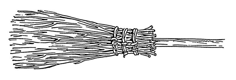 broom of a witch