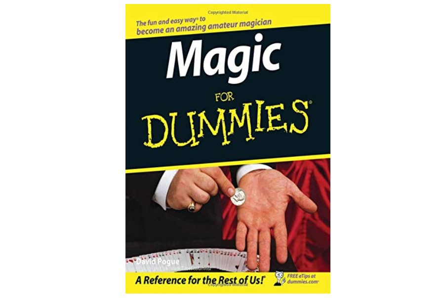 magic for dummies by david pogue