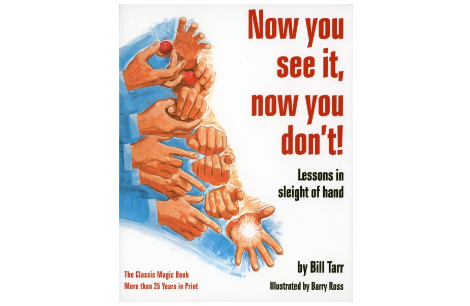 now you see it now you don't magicians book by bill tarr